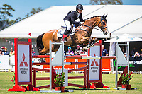 AUS-Callum Buczak rides Matavia Cheval during the CIC3* Showjumping. Final-4th. 2017 AUS-Mitsubishi Motors Australian International 3 Day Event. Victoria Park, Adelaide. Sunday 19 November. Copyright Photo: Libby Law Photography