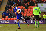 Forest's Henri Lansbury celebrates scoring his sides second equalising goal - Blackpool vs. Nottingham Forest - Skybet Championship - Bloomfield Road - Blackpool - 14/02/2015 Pic Philip Oldham/Sportimage