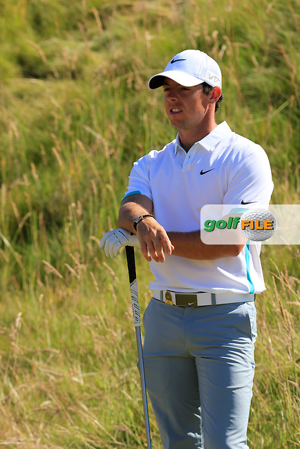 Rory MCILROY (NIR) waits on the 7th tee during Friday's Round 2 of the 2015 U.S. Open 115th National Championship held at Chambers Bay, Seattle, Washington, USA. 6/20/2015.<br /> Picture: Golffile | Eoin Clarke<br /> <br /> <br /> <br /> <br /> All photo usage must carry mandatory copyright credit (&copy; Golffile | Eoin Clarke)