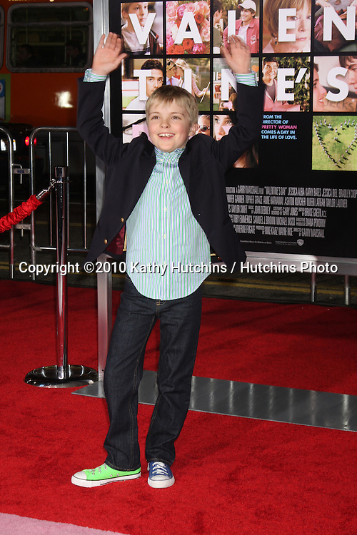 Bryce Robinson.arrivng at the Valentine's Day World Premiere.Grauman's Chinese Theater.Los Angeles, CA.February 8, 2010.©2010 Kathy Hutchins / Hutchins Photo....