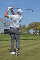 Scott Stallings (USA) watches his tee shot on 7 during round 2 of the Arnold Palmer Invitational at Bay Hill Golf Club, Bay Hill, Florida. 3/8/2019.<br /> Picture: Golffile | Ken Murray<br /> <br /> <br /> All photo usage must carry mandatory copyright credit (&copy; Golffile | Ken Murray)