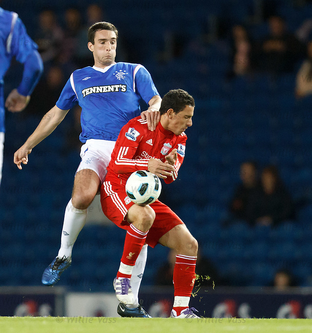 Lee Wallace and Maxi Rodriguez