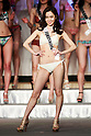 Miss Fukushima, Mako Sato, competes in the swimsuit category during the finals of Miss Universe Japan at Hotel Chinzanso Tokyo on March 1, 2016, Tokyo, Japan. Sari Nakazawa from Shiga captured the crown and will represent Japan in the next Miss Universe international competition. (Photo by Rodrigo Reyes Marin/AFLO)