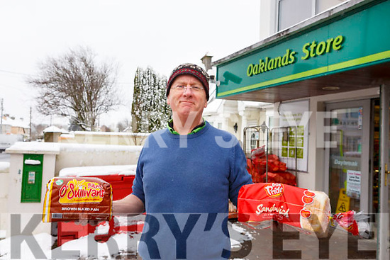 Bread is on the menu for James O'Donoghue of Oaklands Daybreak in Oakpark on Friday morning last.