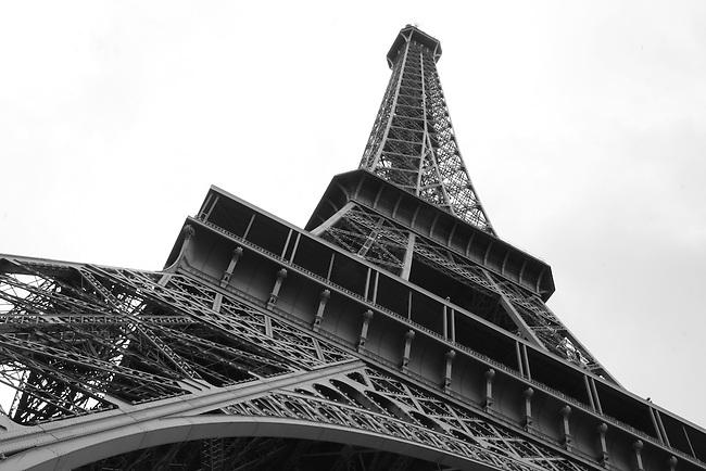 The Eiffel Tower. Paris, France. July 28, 2007.