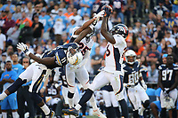 NFL football game between the Denver Broncos and the San Diego Chargers, Sunday, Dec. 6, 2015, in San Diego, Calif. (Photo by Michael Zito/Panini)