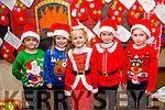l-r  Seamus Keenan, Caoimhe Shanahan, Roisin Sheehy, Maria Bailey and John Riordan. getting ready for the Scoil Eoin Balloonagh Christmas Concert on Monday