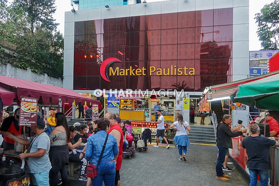 Shopping de importados Market Paulista,  Avenida Paulista. Sao Paulo. 2019. Foto Juca Martins