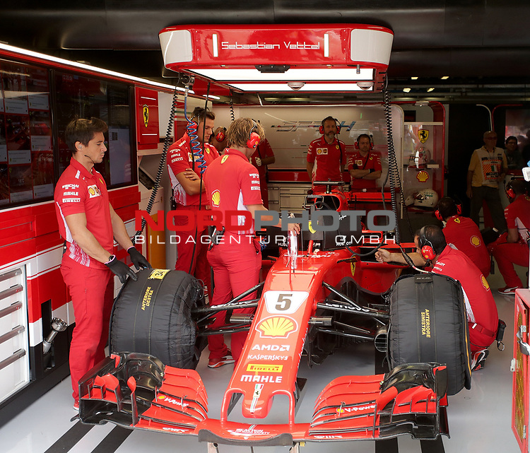 01.09.2018, Autodromo di Monza, Monza, FORMULA 1 GRAN PREMIO HEINEKEN D'ITALIA 2018<br />,im Bild<br />Sebastian Vettel (GER#5), Scuderia Ferrari<br /> <br /> Foto © nordphoto / Bratic