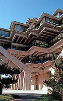 San Diego: U.C.S.D. Library--another view.  (Photo '81)
