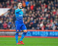 Jack Wilshere of Arsenal during AFC Bournemouth vs Arsenal, Premier League Football at the Vitality Stadium on 14th January 2018
