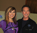 Days Of Our Lives National Tour - Lauren Koslow and Drake Hogestyn on September 15, 2012 at The Shops at Mohegan Sun, Uncasville, Connecticut. (Photo by Sue Coflin/Max Photos)