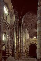 Europe/France/Auvergne/43/Haute-Loire/Brioude: La basilique Saint Julien (plus grande église romane d'Auvergne) - La chapelle - Détail du narthex