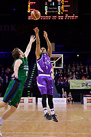 Saints&rsquo; Corey Webster in action during the NBL - Wellington Saints v Supercity Rangers at TSB Bank Arena, Wellington, New Zealand on Friday 5 May 2017.<br /> Photo by Masanori Udagawa<br /> www.photowellington.photoshelter.com.