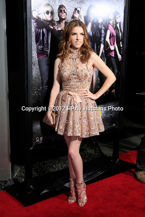 """LOS ANGELES - SEP 24:  Anna Kendrick arrives at the """"Pitch Perfect'"""" Premiere at ArcLight Cinemas on September 24, 2012 in Los Angeles, CA"""