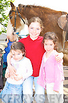Lucy, Clodagh and Hannah O'Leary Glenflesk having fun at the horse fair in Killorglin on Saturday   Copyright Kerry's Eye 2008