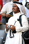 14 June 2006: Unidentified Saudi fan inside the Allianz Arena. Tunisia tied Saudi Arabia 2-2 at the Allianz Arena in Munich, Germany in match 16, a Group H first round game, of the 2006 FIFA World Cup.