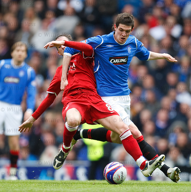 Kyle Lafferty and Mark Kerr