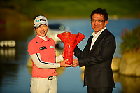 The 2018 Kia Classic tournament Champion Eun-Hee Ji (KOR)during the Final Round at the Kia Classic,Park Hyatt Aviara Resort, Golf Club &amp; Spa, Carlsbad, California, USA. 1/2/12.<br /> Picture: Golffile | Bruce Sherwood<br /> <br /> <br /> All photo usage must carry mandatory copyright credit (&copy; Golffile | Bruce Sherwood)