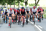 The peloton in action during Stage 3 of the 104th edition of the Tour de France 2017, running 212.5km from Verviers, Belgium to Longwy, France. 3rd July 2017.<br /> Picture: ASO/P.Ballet | Cyclefile<br /> <br /> All photos usage must carry mandatory copyright credit (&copy; Cyclefile | ASO/P.Ballet)