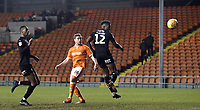 Blackpool's Steven Davies sees his last minute headed effort saved<br /> <br /> Photographer Rich Linley/CameraSport<br /> <br /> The EFL Sky Bet League One - Blackpool v Barnsley - Saturday 22nd December 2018 - Bloomfield Road - Blackpool<br /> <br /> World Copyright &copy; 2018 CameraSport. All rights reserved. 43 Linden Ave. Countesthorpe. Leicester. England. LE8 5PG - Tel: +44 (0) 116 277 4147 - admin@camerasport.com - www.camerasport.com