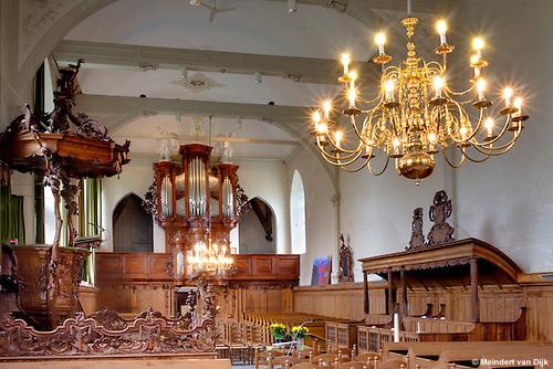 Sixtuskerk Sexbierum tijdens open dag tijdens Tsjerkepaad.
