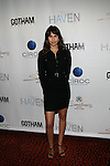 The Wolf of Wall Street Actress Zineb Oukach Attends Seth Meyers at Gotham magazine's 'The Men's Issue' release party at The Sanctuary Hotel powered by CÎROC Vodka, NY