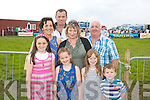HAVING A FLUTTER: Attending the races last Saturday afternoon in Dingle were front l-r: Ciara and Aisling Furlong with Katie O'Connor and Cathal Furlong. Back l-r: Maura Furlong, Micky O'Connor with Teresa and Sean O'Shea, all from Ventry..