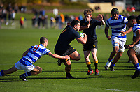 Action from the Auckland 1st XV secondary schools A rugby union match between St Kentigern School and Auckland Grammar School at St Kentigern School in Auckland, New Zealand on Saturday, 25 July 2020. Photo: Dave Lintott / lintottphoto.co.nz