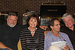 Robert Newman & Courtney and Peter Simon join Guiding Light's Michael O'Leary hosts the 2nd Annual Bauer Barbeque  with trivia contests, Family Feud contest, photos, autographs, Q & A on October 8, 2017 - a part of the Guiding Light Daytime Stars and Strikes for Autism weekend at the Residence Inn, Secaucus, New Jersey. (Photo by Sue Coflin/Max Photo)