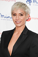 Frankie Bridge at the Virgin Money Giving Mind Media Awards at the Odeon Leicester Square, London, UK. <br /> 13 November  2017<br /> Picture: Steve Vas/Featureflash/SilverHub 0208 004 5359 sales@silverhubmedia.com