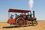 Annual ACMOC Caterpillar Tractor show at the Best Ranch near Woodland, CA..20 HP 1900s Gaar Scott M. Rumeley steam tractor
