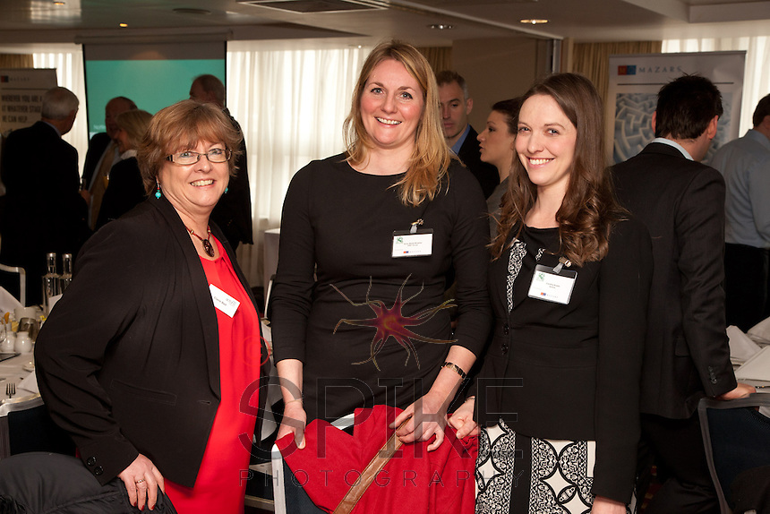 From left are Claire Bell of Actons, Anne-Marie Morphet of LEBC Group and Caroline Bowler of Actons