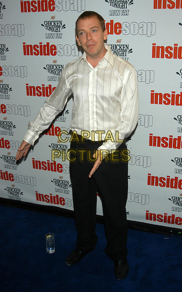 ADAM WOODYATT.Inside Soap Awards 2003.full length, full-length.sales@capitalpictures.com.www.capitalpictures.com.©Capital Pictures