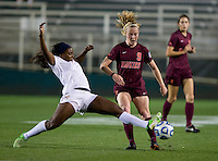 Kelsey Loupee, Jamia Fields. Florida State defeated Virginia Tech, 3-2,  at the NCAA Women's College Cup semifinals at WakeMed Soccer Park in Cary, NC.
