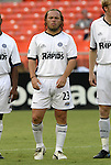 11 August 2004: Antonio de la Torre during player introductions. DC United defeated the Colorado Rapids 3-1 at RFK Stadium in Washington, DC during a regular season Major League Soccer game..