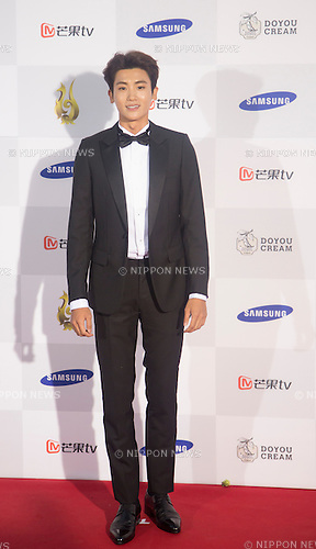 Park Hyung-sik (ZE:A), Sep 10, 2015 : South Korean actor and a member of boy band ZE:A, Park Hyung-sik attends a red carpet event of Seoul International Drama Awards 2015 in Seoul, South Korea. (Photo by Lee Jae-Won/AFLO) (SOUTH KOREA)