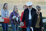 Legendary trainer D. Wayne Lukus and family before the running of the Southwest Stakes (Grade III) at Oaklawn Park in Hot Springs, Arkansas on February 17, 2014. (Credit Image: © Justin Manning/Eclipse/ZUMAPRESS.com)