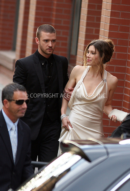 WWW.ACEPIXS.COM . . . . .  ....May 3 2010, New York City....Justin Timberlake and Jessica Biel on May 3 2010 in New York City....Please byline: Philip Vaughan - ACEPIXS.COM.... *** ***..Ace Pictures, Inc:  ..Tel: 646 769 0430..e-mail: info@acepixs.com..web: http://www.acepixs.com
