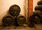 Lepanto brandy cognac production in Gonzalez Byass bodega, Jerez de la Frontera, Cadiz province, Spain