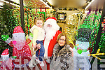 Santa Meets Aoife Sharpe and Eilish Stack at  Listowel Garden Centre Church Street Listowel.