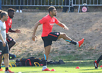 Simon Falette (Eintracht Frankfurt) - 05.09.2018: Eintracht Frankfurt Training, Commerzbank Arena, DISCLAIMER: DFL regulations prohibit any use of photographs as image sequences and/or quasi-video.