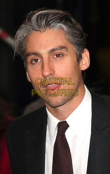 GEORGE LAMB .British Comedy Awards 2009 held at the ITV Studios, South Bank, London,.December 12th 2009..portrait headshot black tie purple aubergine .CAP/JIL.©Jill Mayhew/Capital Pictures
