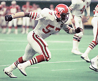 Walter Ballard Calgary Stampeders 1984. Photo Scott Grant