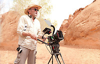 127 Hours (2010) <br /> Behind the scenes photo of Danny Boyle<br /> *Filmstill - Editorial Use Only*<br /> CAP/KFS<br /> Image supplied by Capital Pictures