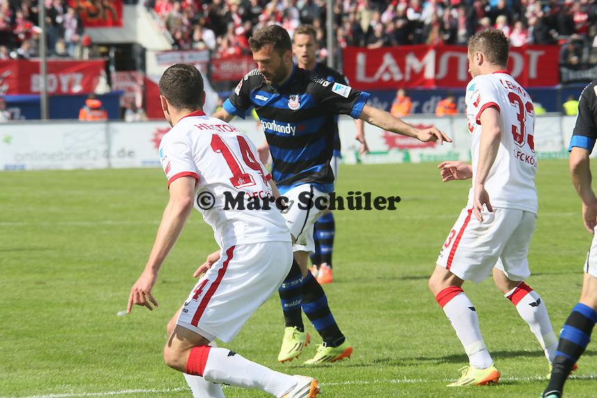 Edmond Kapllani (FSV) zieht ab - FSV Frankfurt vs. 1. FC Koeln, Frankfurter Volksbank Stadion