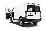 Car images close up view of a 2015 Ram Promater 1500 118 Wb  4 Door Cargo Van doors