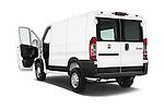 Car images close up view of a 2015 Ram Promater 1500 118 Wb  4 Door Cargo Van doors
