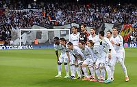 FUSSBALL  CHAMPIONS LEAGUE  HALBFINALE  RUECKSPIEL  2012/2013      Real Madrid - Borussia Dortmund                   30.04.2013 Teamfoto Real Madrid xxNOxMODELxRELEASExx