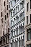 State Street facades, Boston, MA